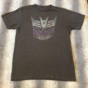 🤖 Transformers Logo Tee Men's Medium Grey